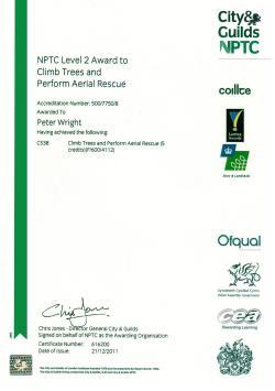 Climbing Certificate